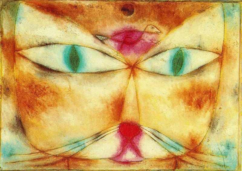 Resultado de imagem para pinturas de paul klee