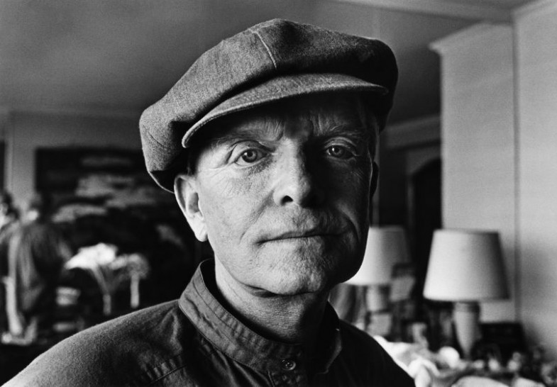 Truman Capote Portrait Session