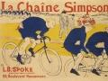 Henri de Toulouse-LautrecLe chaîne Simpson, 1896Litografi, affisch87,6 x 124,7 cm  Kunstindustrimuseet, Köpenhamn