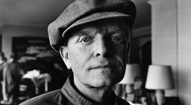 Truman Capote Portrait Session