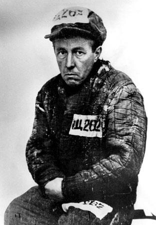 Alexandre Soljenítsin numa de suas passagens pelos campos de trabalho