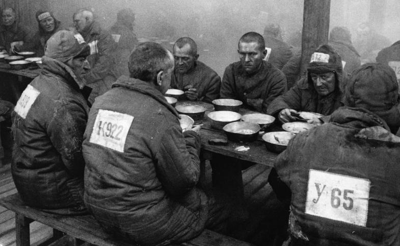 alimentacão de prisioneiros